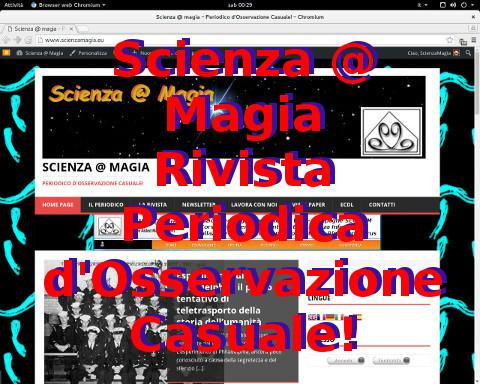 Rivista Periodica Scienza @ Magia