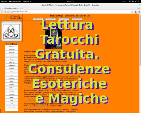 Lettura Tarocchi e Cartomanzia